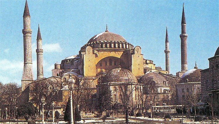 John Singer Sargent's Interior of Hogia Sophia
