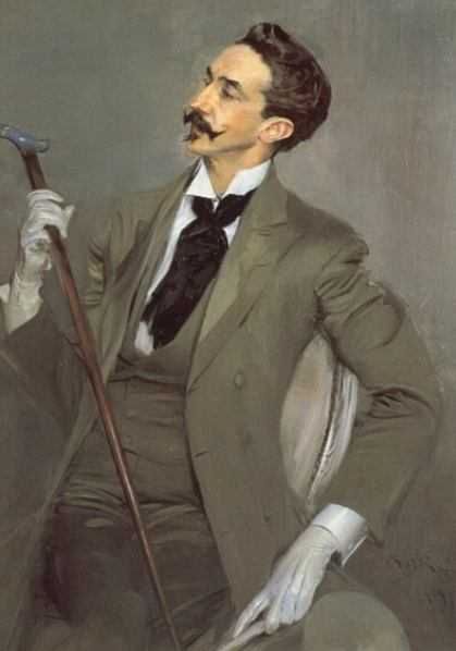 Giovanni Boldini, Portrait of Count Robert de Montesquiou, 1897, Mus&eacute;e d'Orsay