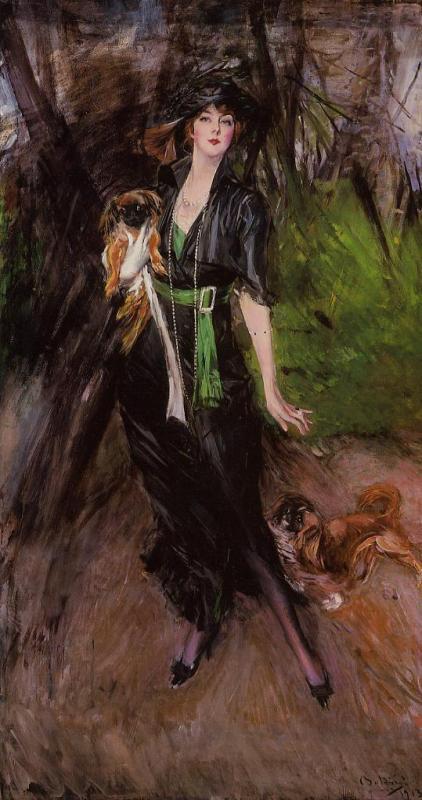 意大利印象派画家 Giovanni Boldini作品