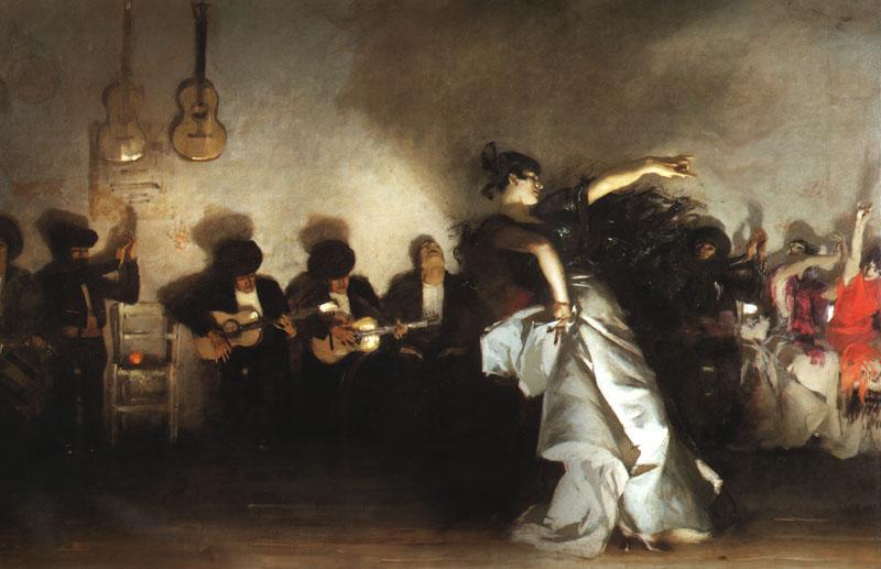 John Singer Sargent, El Jaleo, 1882, Isabella Stewart Gardner Museum, Boston, MA, USA.