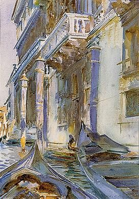 John Singer Sargent'sOn the Grand Canal