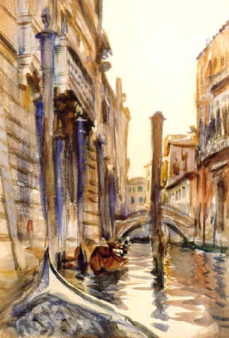 Side Canal In Venice
