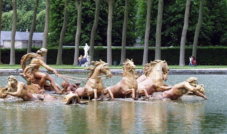 Versailles Apollo Fountain