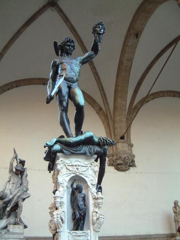 Benvenuto Cellini's Perseus Beheading Medusa